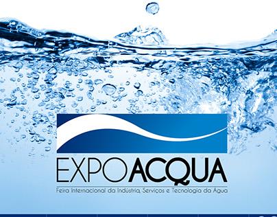 Criação de website: Feira Internacional ExpoAcqua