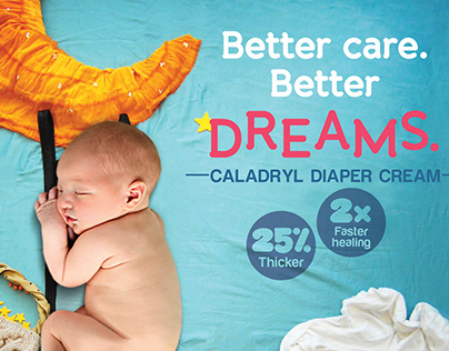 Campaign for Caladryl Diaper Cream