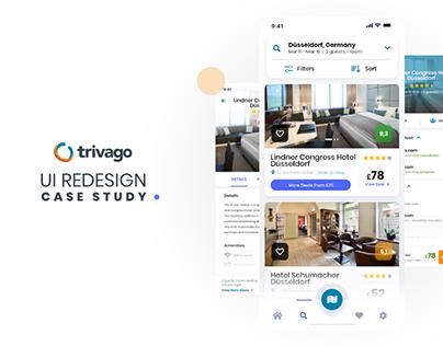 Trivago - UI Redesign Study