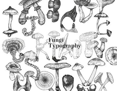 Fungi Typography