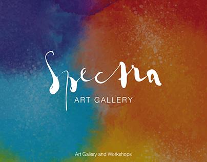 Spectra Art Gallery: Branding & Identity