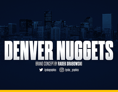 Denver Nuggets Brand Concept