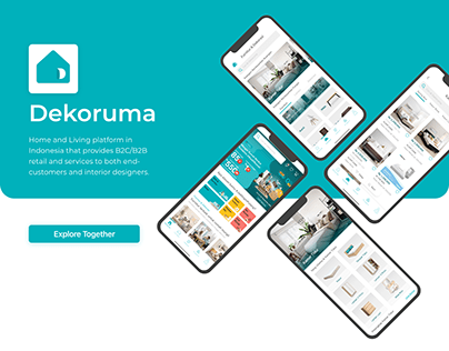 Dekoruma Redesign - UI Mobile App