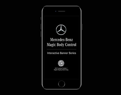 Mercedes-Benz | Magic Body Banners (2017)