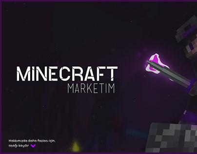 Minecraft Marketim için Yaptığım Konu Tasarımı