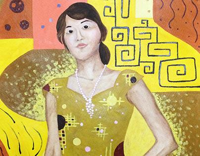 Portrait of Yukiko