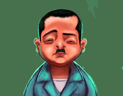 mr sankafolla character design