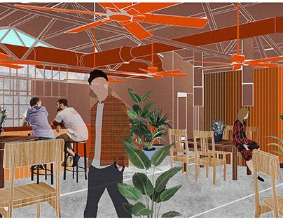 The Copper Saffron by RENESA ARCHITECTURE DESIGN STUDIO