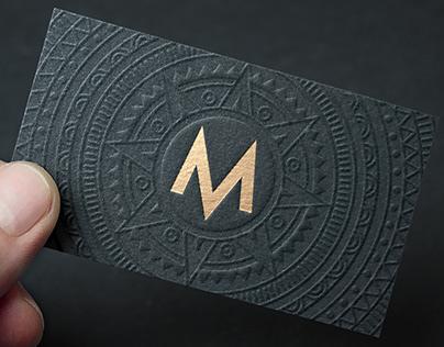 Maya Restaurant Brand Identity