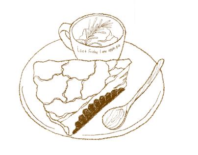 Foods drawning