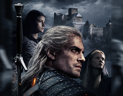 THE WITCHER keyart / movie poster
