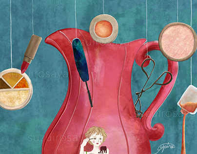 Girls in Wonderland! -Prop Illustrations- PART1