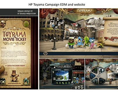 HP Toyrama user-generated content (UGC) Asia campaign