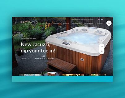 Pro Patio website redesign