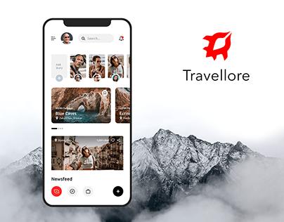 Travel App UI UX