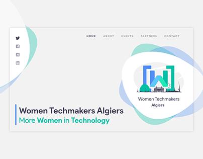 WTM Algiers landing page