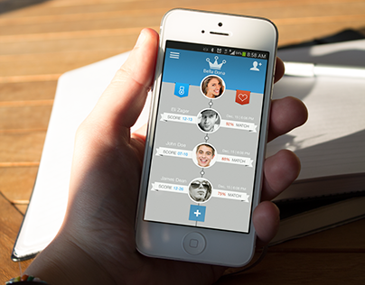Dating App UX / UI Design
