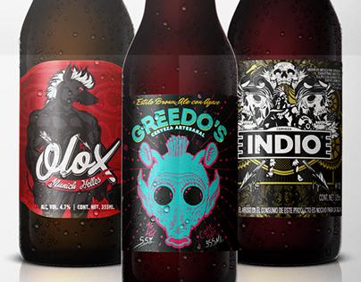 Diseño de Etiquetas para Cervezas