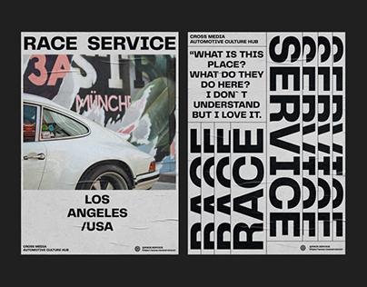Race Service - creative agency