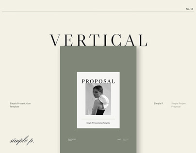 Proposal Vertical Template
