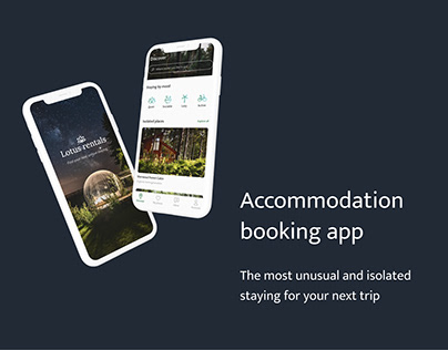 Accommodation booking app