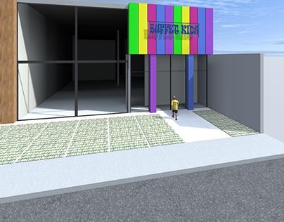 Projeto Salão de Festas e Buffet