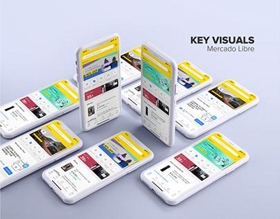 Key visual. Mobile - Mercado libre