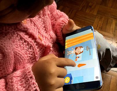 Dia Azul   Jogo Mobile para crianças com TEA