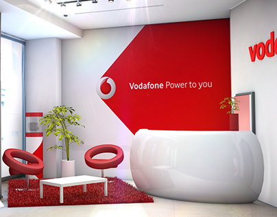Vodafone - shop installation proposal
