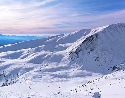 Alpinism. The Ukrainian Carpathians.