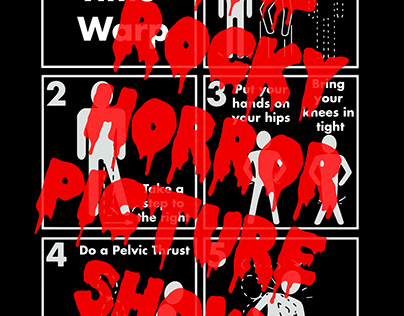 Rock Horror Picture Show Poster