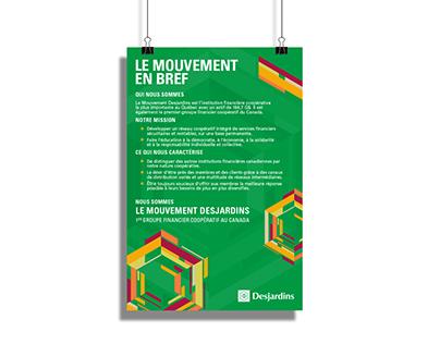 Desjardins - Poster Design