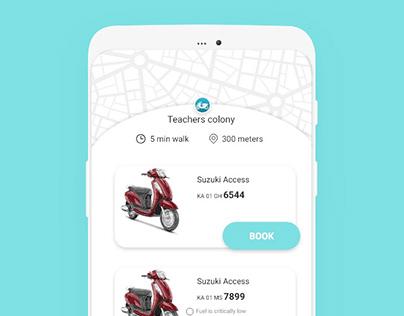UI Design | Bike Rental Service Experience