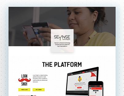 Seynse website