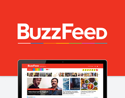 BuzzFeed - Website Redesign Concept