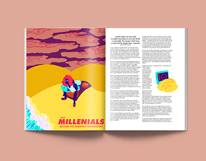 Editorial Covers and Spots