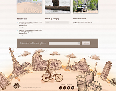 Web Design - Roaming Free