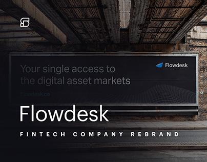 Flowdesk - rebranding of a crypto market maker