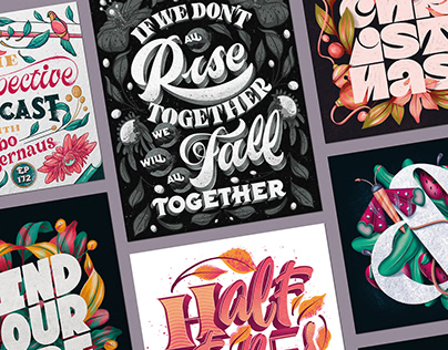 Lettering & Illustration - Collection 2020