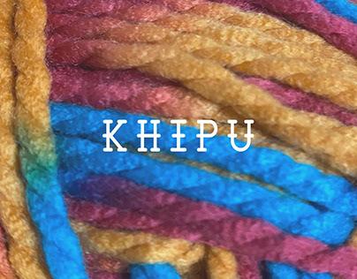 """Colección """"KHIPU"""""""
