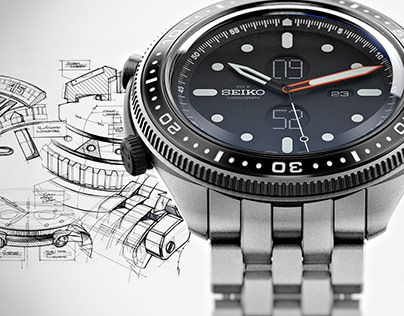 Seiko - 'Tanto' Sports Chronograph