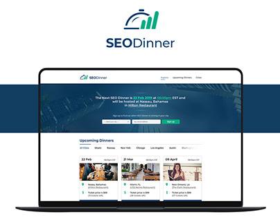 SEO Community Website Design - SEO Dinner