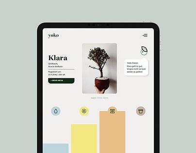 yoko — Plant care app