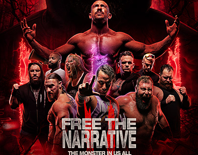 FREE THE NARRATIVE II official poster