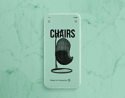 Furniture App and Website Design