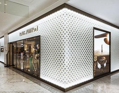 Louis Vuitton Glass Photography