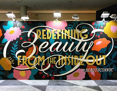 Beautycon Murals
