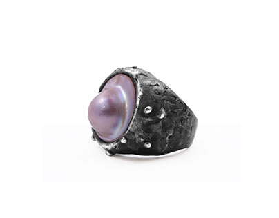 Pearl Man Ring