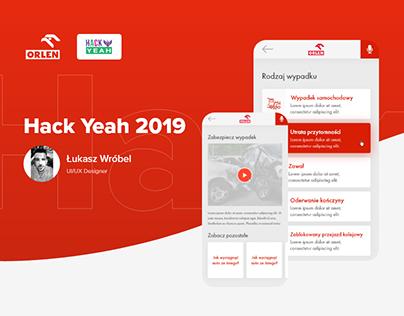 Orlen App - Hack Yeah 2019
