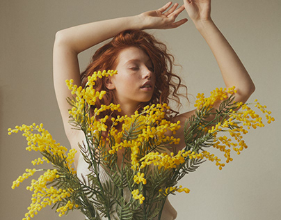 Art Direction, Styling and Makeup for White Mandarin